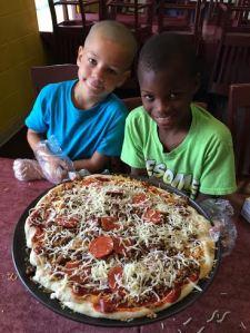 Pizza Making Kids #2